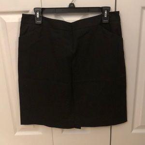 Limited basic black A-line skirt, size 10!